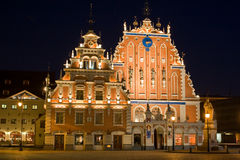 stary 2 Riga Fotografia Royalty Free