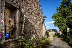Stary Abbaye Morski De Beauport w Paimpol, Cotes ` opancerzenie, Brittany, Francja zdjęcia royalty free