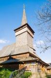 Stary aktywny kościół w Nehrovets Transcarpathia Ukraina Zdjęcia Stock