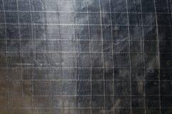 Stary aluminiowej folii tła wzór Fotografia Stock
