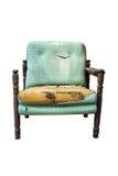 stary łamany krzesło Obrazy Stock