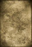 Stary Americas mapy grunge tło Obraz Royalty Free