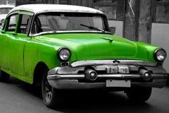Stary Amerykański samochód w Hawańskim, Kuba Obrazy Stock
