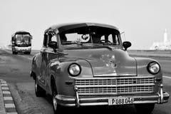 Stary Amerykański samochód w Hawańskim, Kuba Obrazy Royalty Free