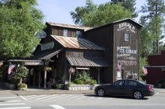 Stary Amerykański Zachodni miasteczko Zdjęcia Stock