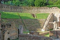 Stary amphitheatre w Trieste Obrazy Royalty Free