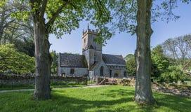 Stary Angielski kościół w Anglia UK zdjęcia stock