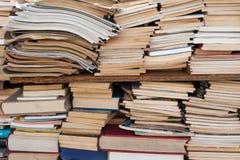 Stary antyk używać książki i Obraz Stock