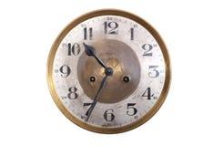 Stary antykwarski ścienny zegar Zdjęcie Royalty Free