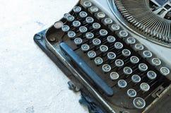Stary Antykwarski maszyna do pisania Obrazy Stock