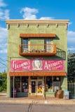 Stary antykwarski sklep Zdjęcia Royalty Free
