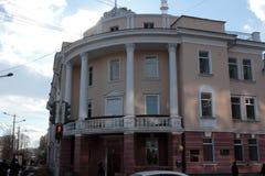 Stary archiwum budynek w Yakutsk Obrazy Royalty Free