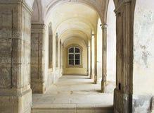 stary archway dwór Obraz Royalty Free