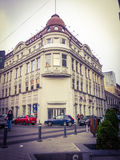Stary arhitectural budynek od Bucharest Obraz Royalty Free
