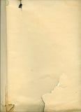 stary arkusza papieru Obrazy Stock