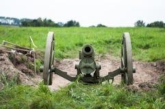 stary artyleryjski działo Zdjęcie Stock
