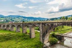 Stary austriaka mosta wiadukt zdjęcie stock