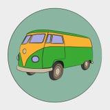 stary autobus Obrazy Royalty Free