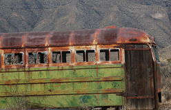 stary autobus Zdjęcia Stock