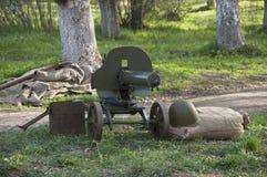 Stary automatyczny pistolet Zdjęcie Royalty Free