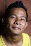 stary azjatykciego uśmiechnięci young fotografia royalty free
