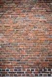 Stary będący ubranym ściana z cegieł Fotografia Stock