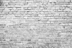 Stary będący ubranym ściana z cegieł Obrazy Stock