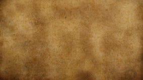 Stary będący ubranym papirusu papier z skażoną powierzchnią zdjęcie stock