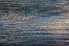 Stary Błękitny Drewniany tekstury tło zdjęcie stock