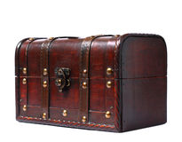 stary bagażnik Zdjęcia Stock
