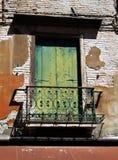 Stary balkon Zdjęcie Royalty Free
