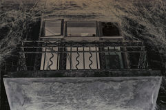 Stary balkon Zdjęcia Stock