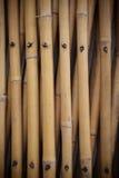 Stary bambusa ogrodzenie Fotografia Stock