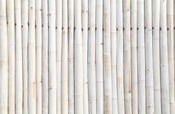 Stary bambusa ogrodzenie, tło Zdjęcia Royalty Free