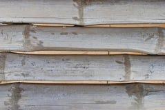 Stary bambusowy tekstury use jako tło zdjęcie stock