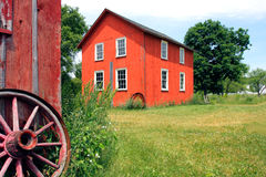 stary barnyard Fotografia Stock