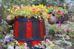 stary barrel Zdjęcie Stock