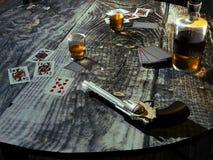 stary baru stołu western Zdjęcie Royalty Free