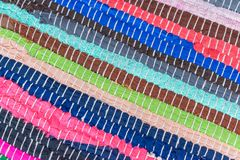Stary barwiony tkaniny tło Obrazy Stock