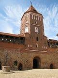 stary Belarus forteca zdjęcie stock