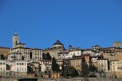 Stary Bergamo, Włochy Obrazy Royalty Free