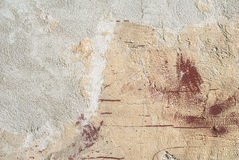 Stary betonowej ściany tekstury tło Zdjęcie Royalty Free