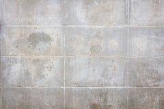 Stary betonowy blok ściany tło Obraz Royalty Free