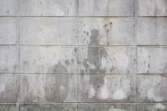 Stary betonowy blok ściany tło Zdjęcie Stock