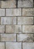 Stary biały ściana z cegieł stary i postrzępiony ściana z cegieł Zdjęcie Stock
