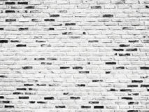 Stary biały ściana z cegieł tekstury projekt Pusty biały ceglany tło dla prezentaci przestrzeni dla teksta składu sztuki wizerunk Zdjęcie Royalty Free