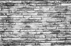 Stary biały ściana z cegieł tekstury tło jest dla tło projekta, skład sztuki wizerunku, strony internetowej, magazynu lub grafiki Zdjęcie Stock