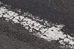 Stary biały skrzyżowanie linii Zdjęcie Royalty Free