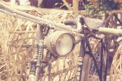 Stary bicykl - rocznik fotografia royalty free