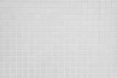 Stary biel taflująca ściana Zdjęcie Stock